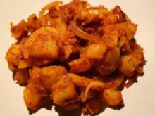 Rote Bratkartoffeln - Rezept