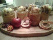 Apfel- Zimt- Küchlein im Glas - Rezept