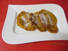 Vegetarisch:  Kürbisküchlein mit Goji-Beeren - Rezept