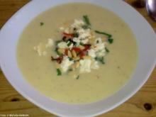 Kartoffel-Creme-Suppe 'Poseidon' - Rezept