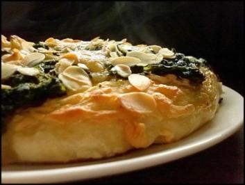 Spinat-Pizza amerikanisch - Rezept