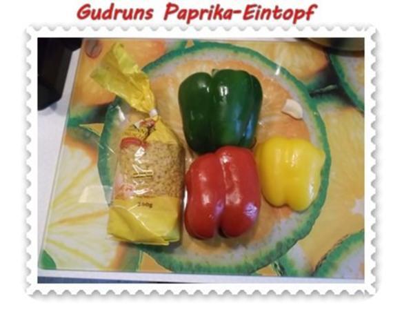 Eintopf: Paprika-Eintopf - Rezept - Bild Nr. 2