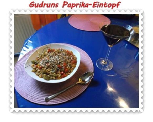 Eintopf: Paprika-Eintopf - Rezept - Bild Nr. 13
