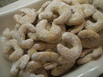 Plätzchen: Wiener Vanillekipferl - Rezept