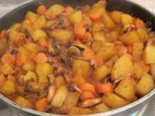 Kochen: Vegetarische Jägerpfanne - Rezept