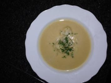 Rezept: Königliche Blumenkohl Suppe