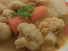 1Topfgericht: Karfiolsuppe ungarische Art - Rezept