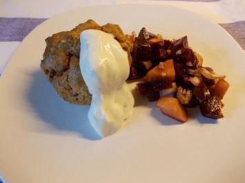 Rezept: Herzhafte Rote-Bete-Muffins