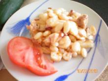 Fisch:Weiße Bohnensalat mit Pulpo und Thunfisch - Rezept
