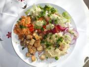 Rohkost, Hirse und Tofu - Rezept