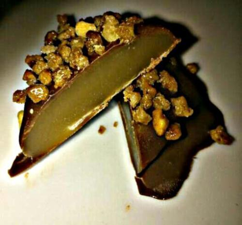 Karamell-Krokant Pralinen ~schmecken wie Toffifee~ - Rezept - Bild Nr. 2