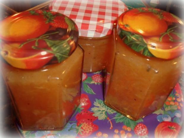 Pomelo-Papaya-Marmelade - Rezept