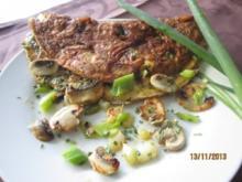Champignon -Omelett - Rezept