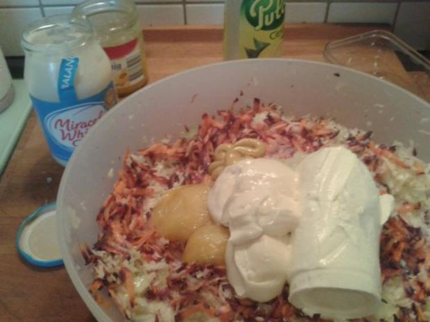 Coleslaw (Amerikanischer Krautsalat) - Rezept - Bild Nr. 3
