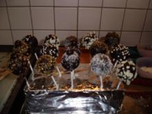"Cake Pops Typ Schokolade-Kaffee  ""Mocca"" - Rezept"