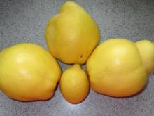 Einmachen: Quitten-Gelee, gewürzt - Rezept