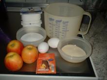 Quarkauflauf mit Äpfel !     Als Dessert oder auch zum Mittag ! - Rezept