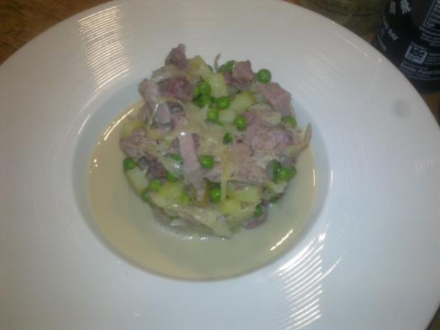 Eisbein mit Sauerkrautsuppe - Rezept