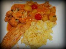 Indisches Fisch-Gemüse-Curry - Rezept