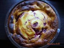 Kleine Formen: Quarkkuchen  mit Himbeeren - Rezept