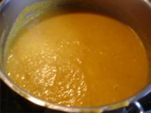 Möhrensuppe mit Kochsahne - Rezept