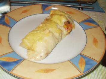 Wraps mexicanisch überbacken - Rezept