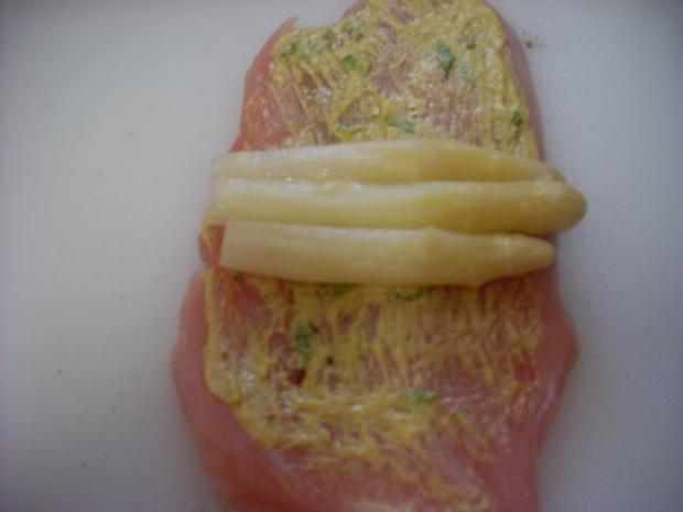 Puten-Spargel-Roulade - Rezept - Bild Nr. 4