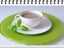 Champignons-Steinpilze  Cremesuppe - Rezept