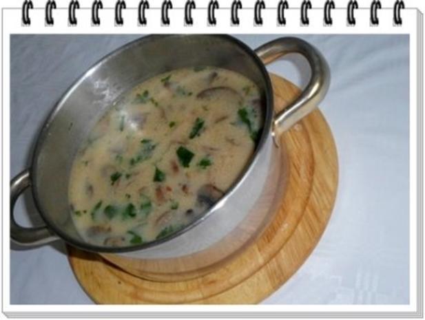 Champignons-Steinpilze  Cremesuppe - Rezept - Bild Nr. 9
