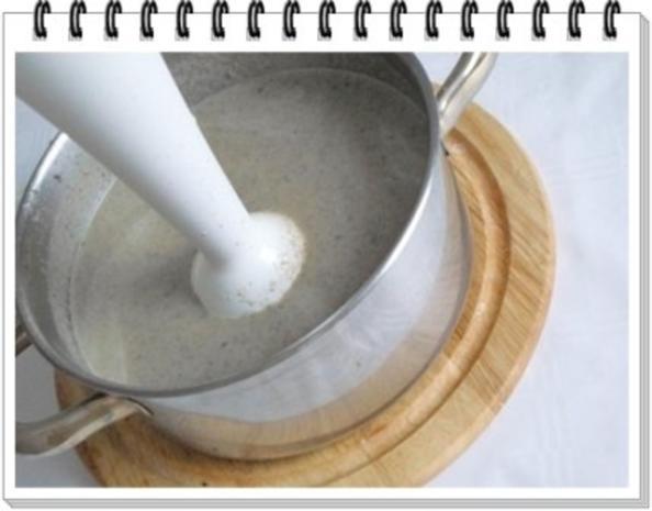 Champignons-Steinpilze  Cremesuppe - Rezept - Bild Nr. 10