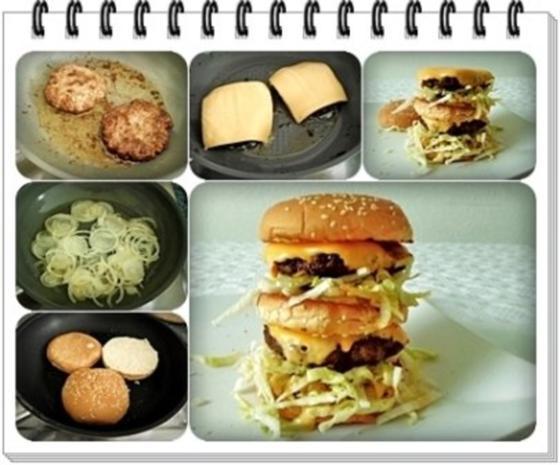 ❈ Big Mac ❈ selber machen - Rezept - Bild Nr. 17
