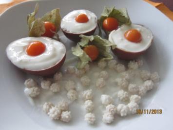 Rezept: Süße Kokos-Eier