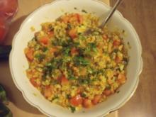 Linsen Bulgur Salat - Rezept