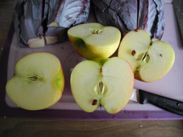 Vegan : Orangen - Apfel - Rotkraut - Rezept - Bild Nr. 8