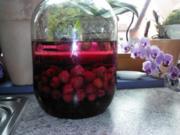 Himbeer-Vanille-Razz Likör - Rezept