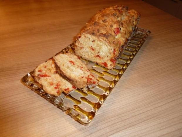 Paprika-Brot - Rezept