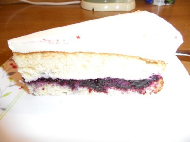 Milka-Heidelbeer-Torte - Rezept