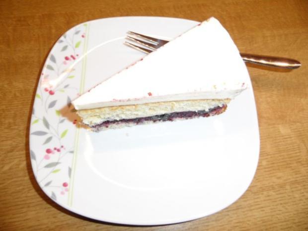 Milka-Heidelbeer-Torte - Rezept - Bild Nr. 2