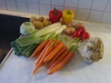 Gemüseeintopf mit Speck - Rezept