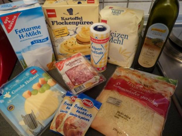 Käse-Schinken Brot - Rezept - Bild Nr. 2