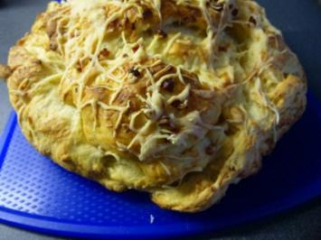Rezept: Käse-Schinken Brot