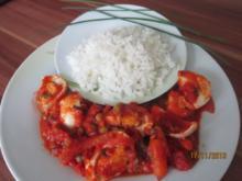 Ei-Curry mit Basmati-Reis - Rezept