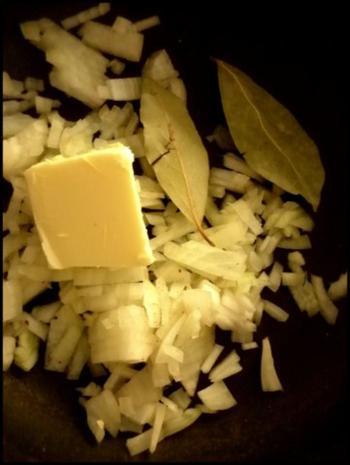 Hokkaido und Kartoffeln gebacken ...mit scharfer Kürbissoße - Rezept - Bild Nr. 7
