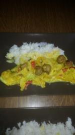 Wirsing -Curry mit Hackbällchen - Rezept