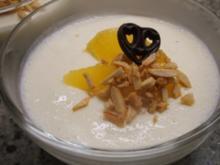 Dessert: Orangenbuttermilch - Rezept