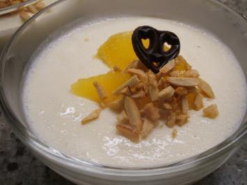 Rezept: Dessert: Orangenbuttermilch