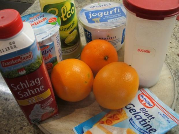 Dessert: Orangenbuttermilch - Rezept - Bild Nr. 2
