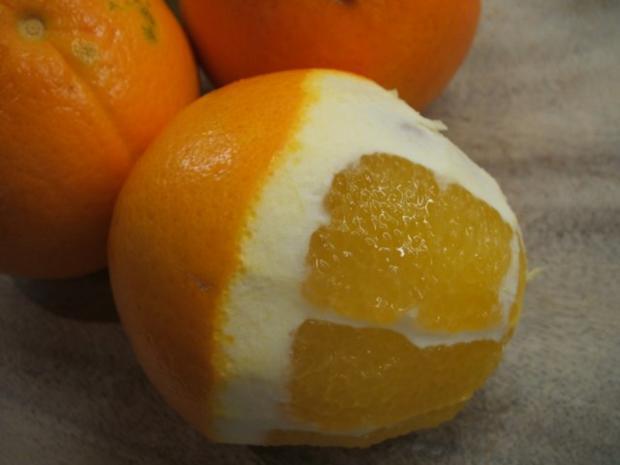 Dessert: Orangenbuttermilch - Rezept - Bild Nr. 4