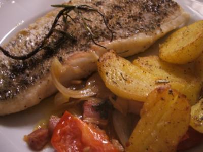 Fisch: Hechtfilets mediterran angehaucht - Rezept