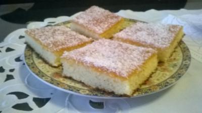 Joghurt-Grieß-Kuchen - Rezept